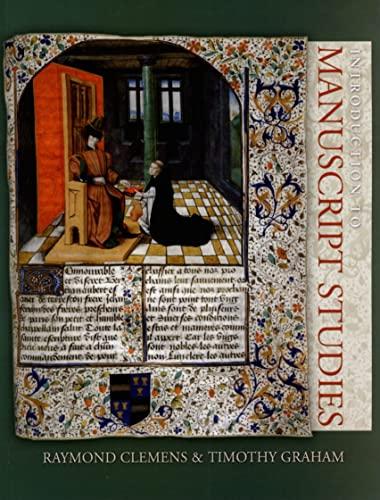 9780801487088: Introduction to Manuscript Studies