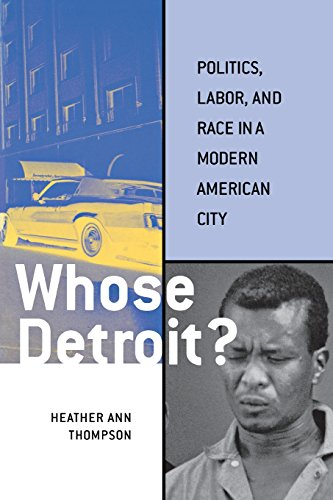 9780801488849: Whose Detroit?: Politics, Labor, and Race in a Modern American City