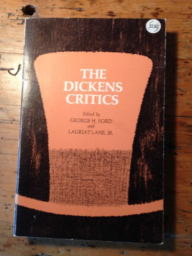 The Dickens Critics: Ford, George Harry;