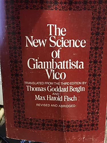 9780801490996: New Science of Giambattista Vico