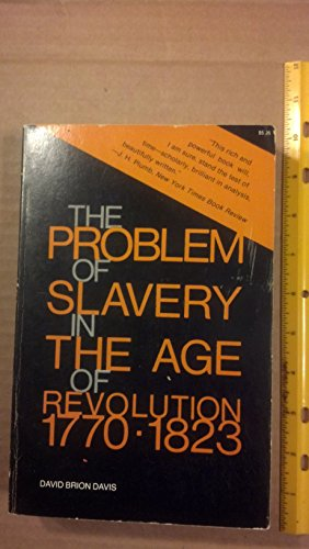 9780801491566: Problem of Slavery in the Age of Revolution, 1770-1803