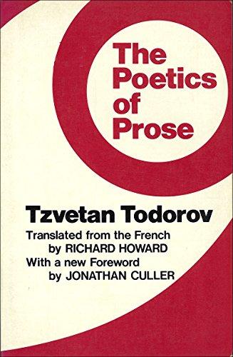 9780801491658: Poetics of Prose