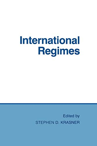 International regimes.: Krasner, Stephen D.