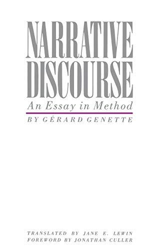 Narrative Discourse: Genette, Gerard