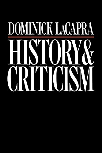 9780801493249: History and Criticism (Cornell Paperbacks)