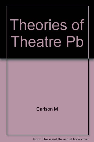 9780801493379: Theories of the Theatre: A Historical and Critical Survey, from the Greeks to the Present