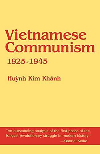 9780801493973: Vietnamese Communism, 1925-1945