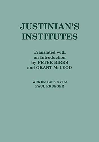 "Justinian's ""Institutes"": Justinian"