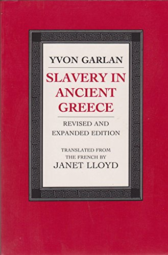 Slavery in Ancient Greece: Garlan, Yvon