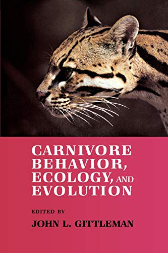 9780801495250: Carnivore Behavior, Ecology, and Evolution: Vol 1 (Comstock books)