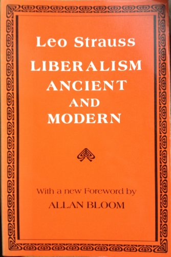 9780801495496: Liberalism Ancient and Modern (Agora Paperback Editions)