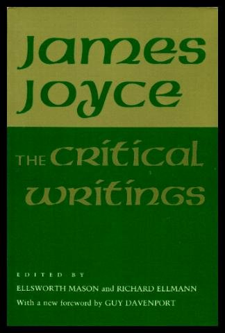 9780801495878: The Critical Writings of James Joyce