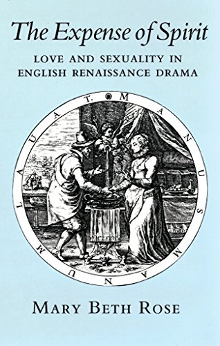 The Expense of Spirit. Love and Sexuality in English Renaissance Drama.: Rose, Mary Beth
