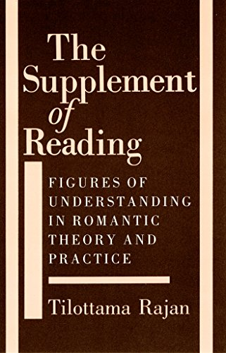 9780801497490: The Supplement of Reading: Figures of Understanding in Romantic Theory and Practice