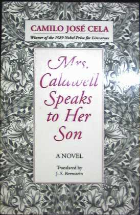 9780801497834: Mrs. Caldwell Speaks to Her Son