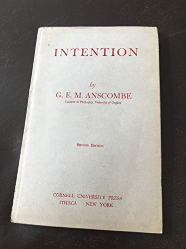 9780801498039: Intention 2/E Pb