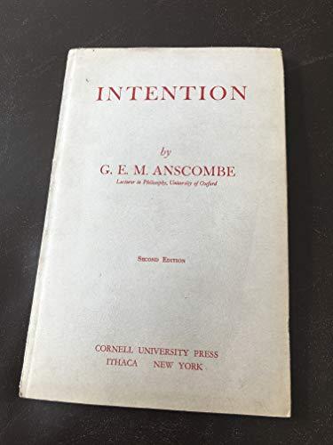 9780801498039: Intention