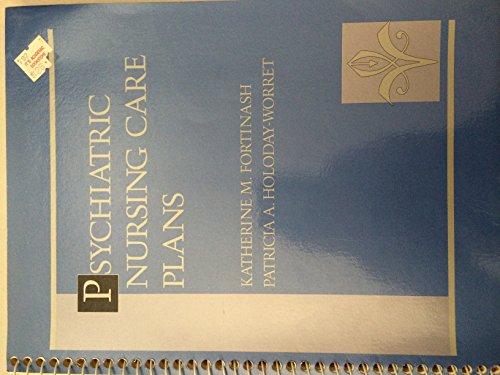 9780801602528: Psychiatric Nursing Care Plans