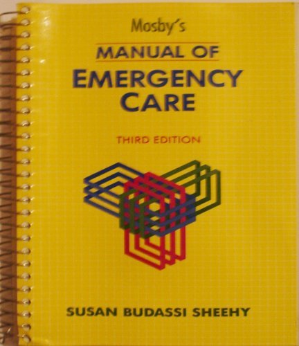 9780801603068: Mosby's Manual of Emergency Care