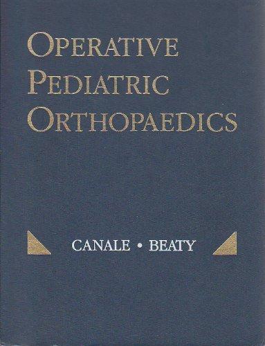 9780801603921: Operative Pediatric Orthopaedics