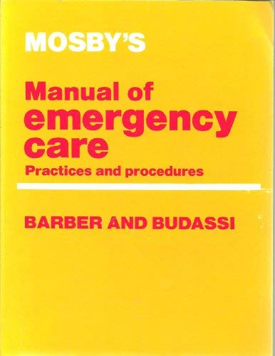 9780801604478: Manual of Emergency Care