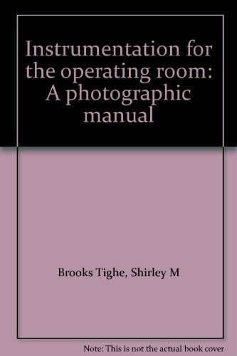 9780801608162: Instrumentation for the Operating Room: A Photographic Manual