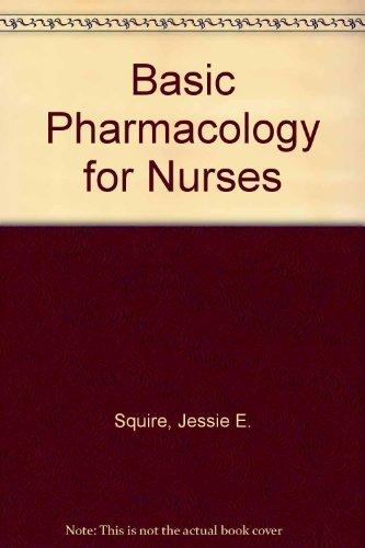 9780801611216: Basic Pharmacology for Nurses