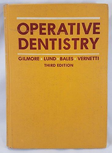 9780801618222: Operative Dentistry