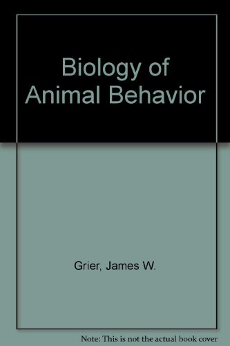 9780801619717: Biology of Animal Behavior