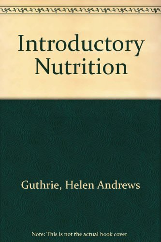 9780801619977: Introductory nutrition