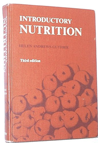 9780801620003: Introductory nutrition