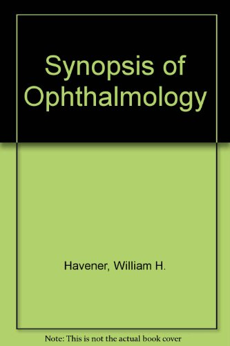 9780801620973: Synopsis of Ophthalmology