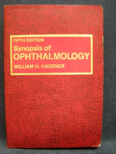 9780801620980: Synopsis of Ophthalmology