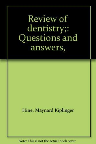 9780801621963: Review of Dentistry: Questions and Answers