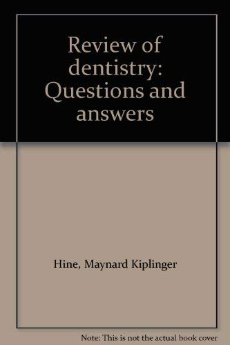 9780801621970: Review of Dentistry: Questions and Answers