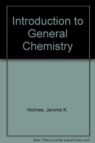 9780801622311: Introduction to General Chemistry