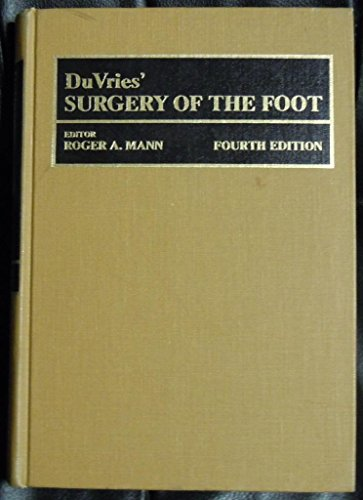 9780801623332: Surgery of the Foot