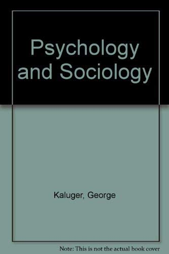 9780801626128: Psychology and Sociology