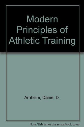 9780801626838: Modern Principles of Athletic Training