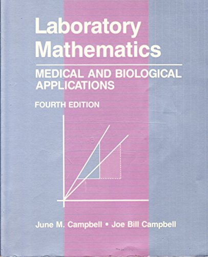 9780801628733: Laboratory Mathematics: Medical and Biological Applications