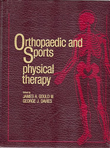 9780801629082: Orthopaedic and Sports Physical Therapy (Mosby's Physical Therapy Series)