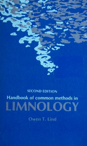 Handbook of common methods in limnology: Lind, Owen T
