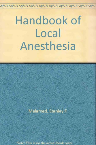 9780801630767: Handbook of Local Anesthesia