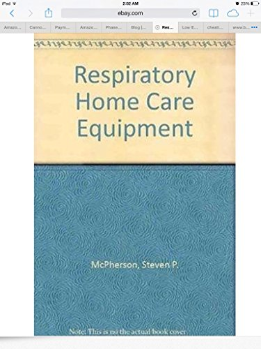 9780801633126: Respiratory Therapy Equipment