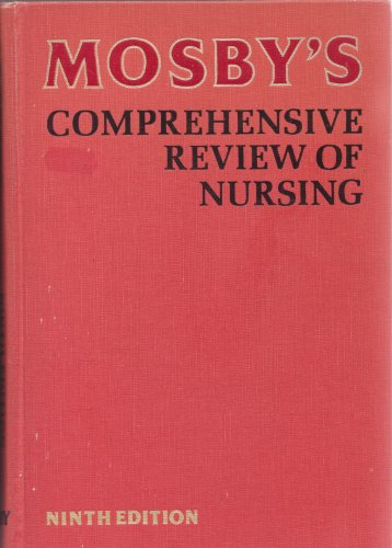 Mosby's Comprehensive Review of Nursing (0801635292) by Dolores F. Saxton