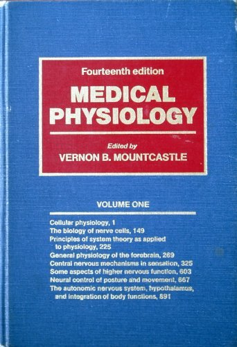9780801635601: Medical Physiology, Vol. 1 of 2