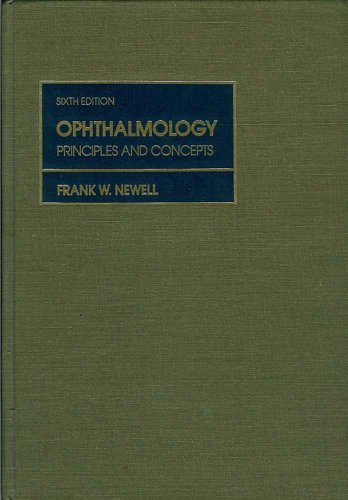 9780801636431: Ophthalmology: Principles and Concepts