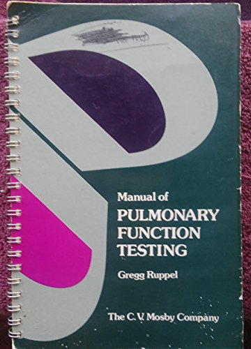 9780801642074: Manual of Pulmonary Function Testing