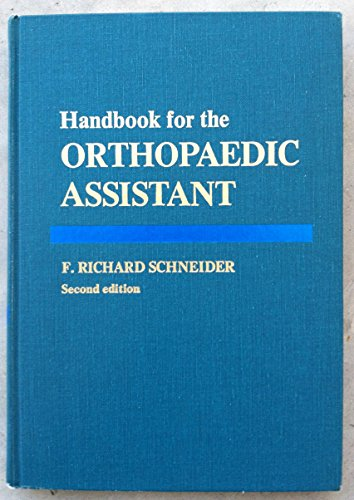 9780801643514: Handbook for the Orthopaedic Assistant