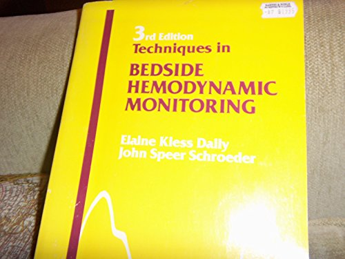 9780801643750: Techniques in Bedside Hemodynamic Monitoring